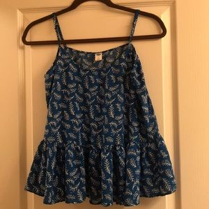 Old Navy Blue Spaghetti Strap Top